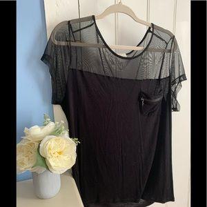 Plus size (2x) sexy blouse